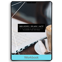 Believe, Plan, Act: A Platform + Productivity Planner for Writers