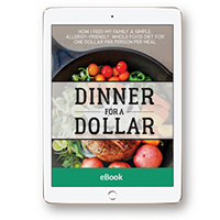 Dinner for a Dollar: How I Feed My Family a Simple, Allergy-Friendly, Whole-Food Diet for One Dollar per Person per Meal